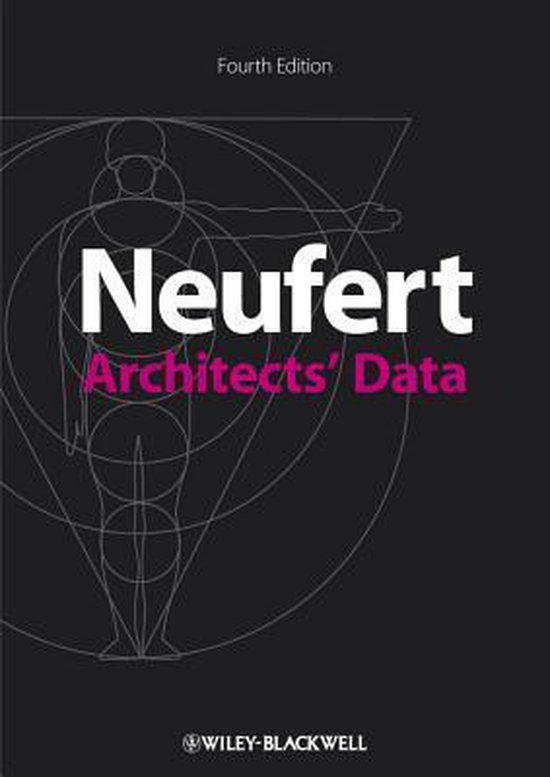 Boek cover Architects Data van Ernst Neufert (Paperback)