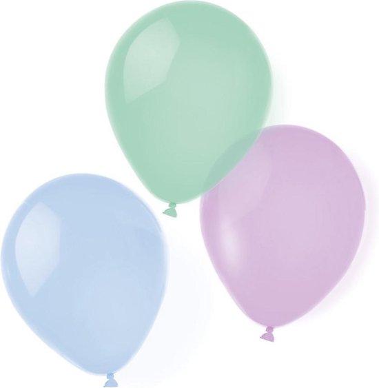 Riethmüller Ballonnen Pastel 25,4 Cm Latex 8 Stuks