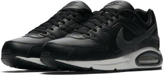 Nike Air Max Command Leather Sneaker Heren - Zwart/Neutral Grey/Anthracite - Maat 44