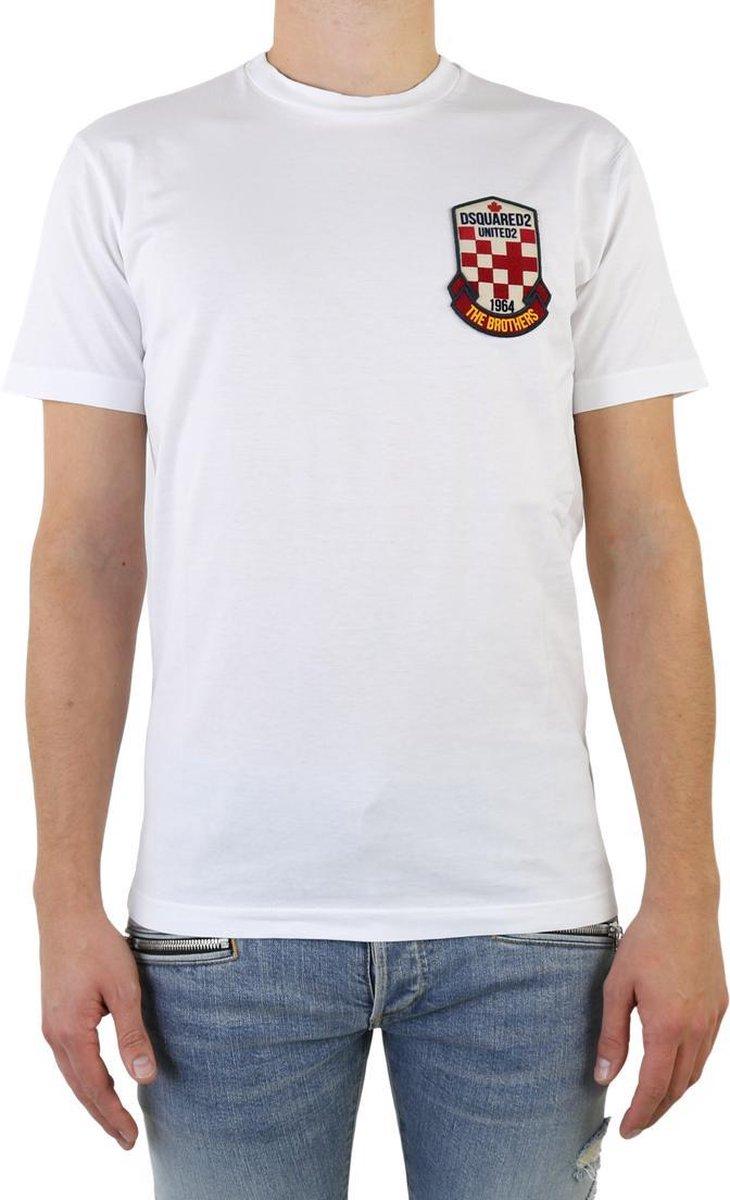 T-Shirt Heren  maat M Wit