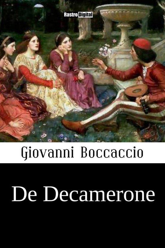 Boek cover De Decamerone van Giovanni Boccaccio (Onbekend)