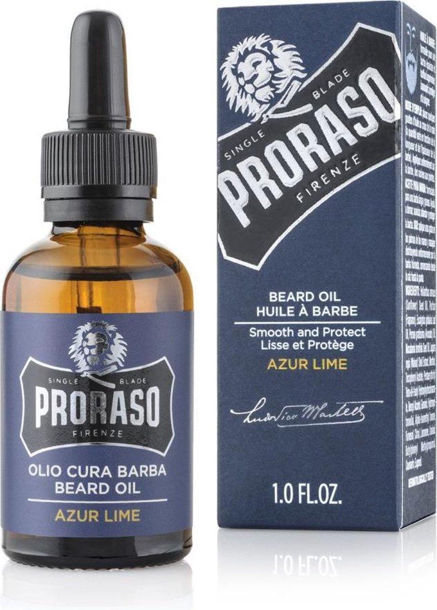 Proraso Baardolie Leave-in Azur Lime 30 ml