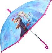 Disney Frozen 2 kinderparaplu voor meisjes 71 cm - Frozen II - Anna/Elsa - Kinderparaplu - Regenkleding/regenaccessoires