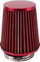 HKS 5cm universele paddestoel hoofd stijl luchtfilter voor auto (rood)