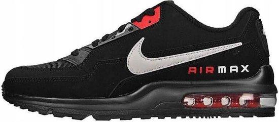 Nike Air Max LTD 3 sneakers heren zwart/rood  maat 45.5