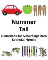 Svenska-Norska Nummer/Tall Bildordbok foer tvasprakiga barn