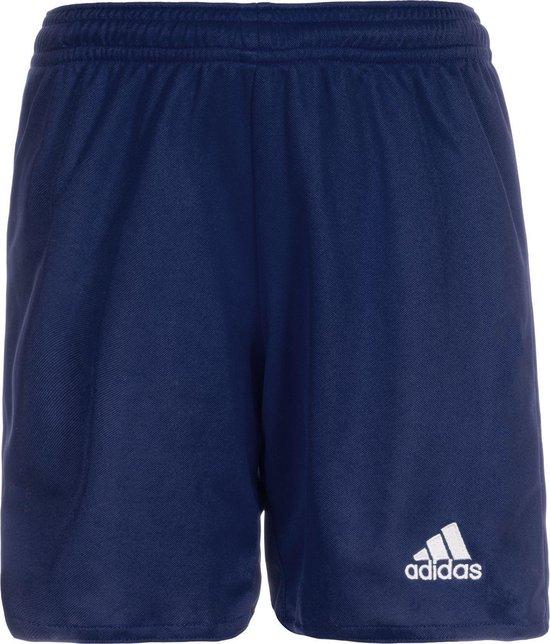 adidas Parma 16 Shorts Heren Sportbroekje - Dark Blue/Wit - Maat L