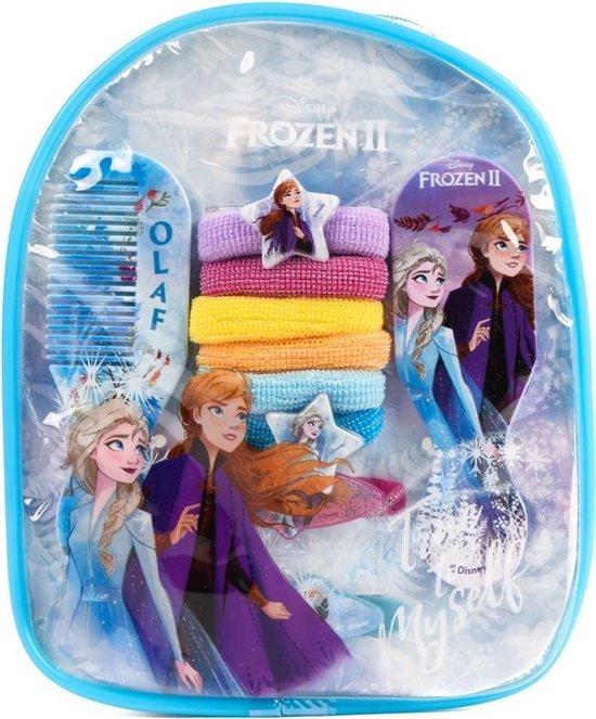 Afbeelding van het spel Disney Frozen 2 Rugzak gevuld met Haaraccessoires