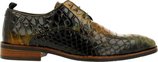 Rehab Heren Nette schoenen Falco Snake - Groen - Maat 43