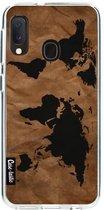 Samsung Galaxy A20e hoesje World Map Casetastic Smartphone Hoesje softcover case