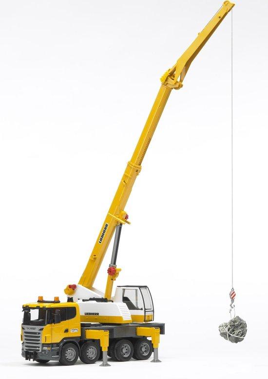 Afbeelding van Bruder Kraanwagen Scania/Liebherr speelgoed