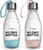 SodaStream My Only Bottles Duopack - Met draagkoortje - 0.5L - 2 flessen