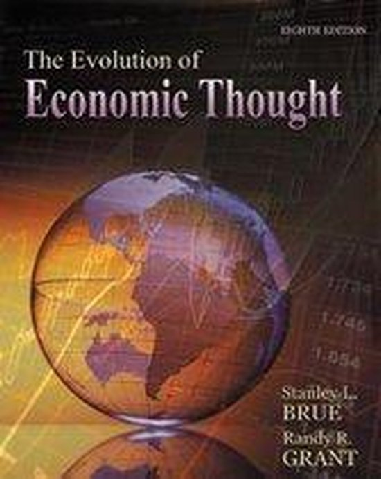 Boek cover The Evolution of Economic Thought (with Economic Applications and InfoTrac (R) 2-Semester Printed Access Card) van Randy Grant (Onbekend)