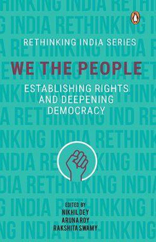 Boek cover We the People van Nikhil Dey (Onbekend)