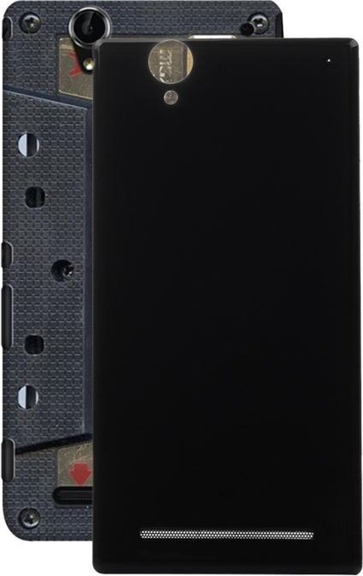 Let op type!! Ultra Back Battery Cover for Sony Xperia T2 (Black)