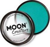Moon Creations Schmink Pro Face Paint Cake Pots 36 Gram Turquoise