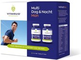 Vitakruid / Multi dag & nacht man 2 x 90 - 180 tabletten