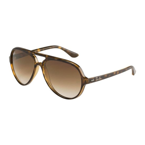 Ray-Ban RB4125 710/51 - Cats 5000 - zonnebril - Tortoise / Lichtbruin Gradiënt - 59mm