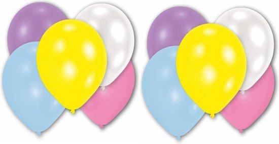 20 stuks parelmoer ballonnen 27,5 cm