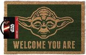 Star Wars Yoda - Deurmat