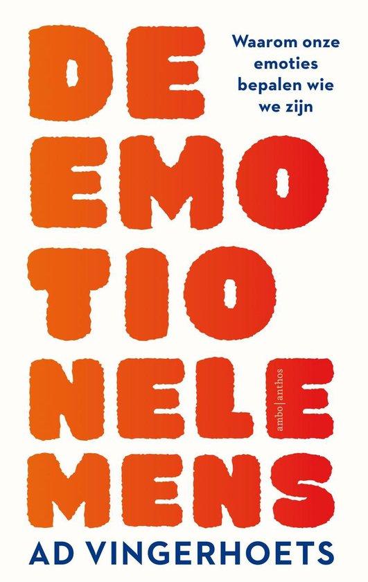 Boek cover De emotionele mens van Ad Vingerhoets (Paperback)