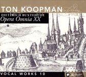 Koopman Ton / Amste - Opera Omnia Xx - Vocal Works 10