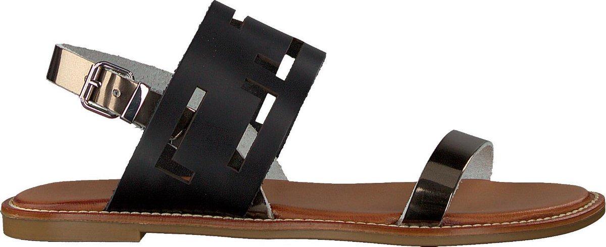 Verton Dames Sandalen S-10199 - Zwart - Maat 40