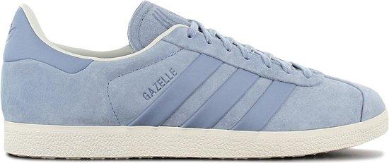 adidas Originals Gazelle S&T - Stitch and Turn - Heren Sneakers Sport Casual Schoenen Grijs B37813 - Maat EU 40 2/3 UK 7