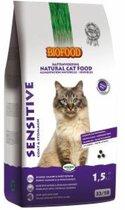 Biofood cat sensitive coat & stomach kattenvoer 10 kg