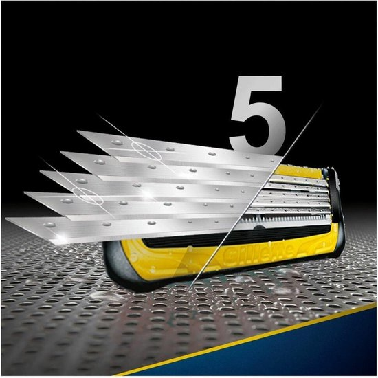 Gillette Fusion ProShield Scheermesjes Mannen - 8 Stuks