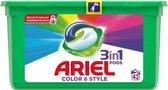 Ariel 3in1 Pods Kleur & Stijl - Wasmiddelcapsules - 129 Wasbeurten