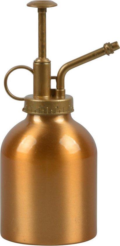 Drukspuit/plantensproeier verkoperd aluminium 290 ml - Plantenspuit - Tuinbenodigdheden - Waterverstuiver
