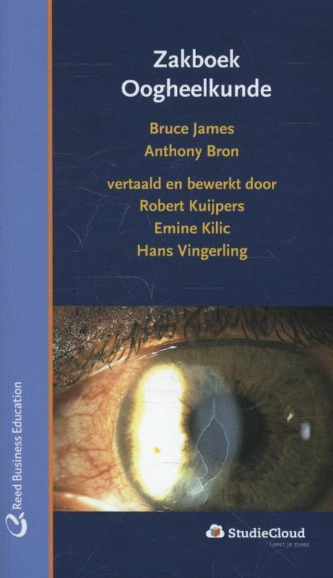 Boek cover Zakboek oogheelkunde van Bruce James (Paperback)