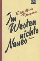 Boek cover Im Westen nichts Neues van Erich Maria Remarque (Paperback)