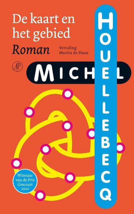 Boek cover De kaart en het gebied van Michel Houellebecq (Paperback)