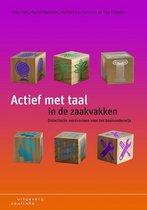 Boek cover Actief met taal in de zaakvakken van Anja Valk (Paperback)