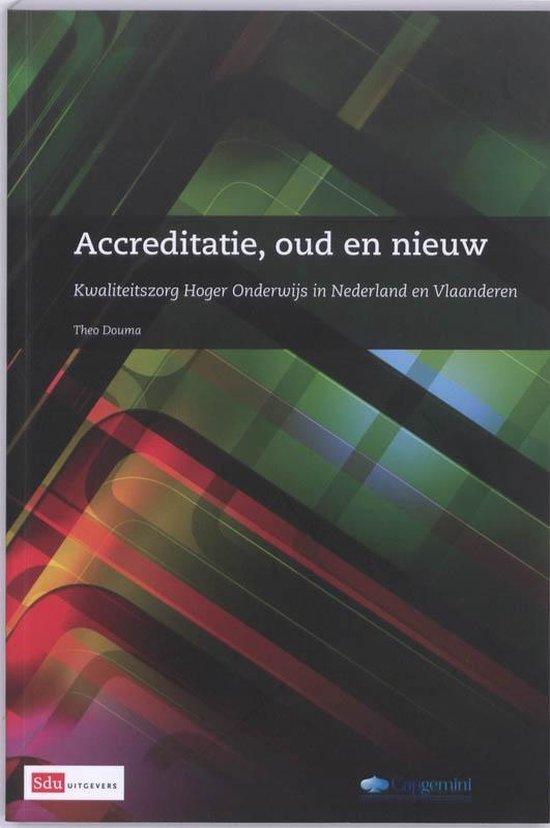 Boek cover Accreditatie,oud en nieuw van Theo Douma (Paperback)