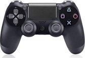 Bluetooth Gamepad Controller voor Playstation 4 / Windows (via kabel)&PS3 oplaadbaar  - Zwart