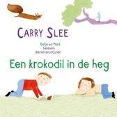 Boek cover Een krokodil in de heg van Carry Slee (Onbekend)
