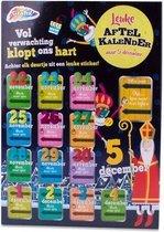 Grafix Aftelkalender Sinterklaas Junior 40 X 23 Cm Karton Zwart