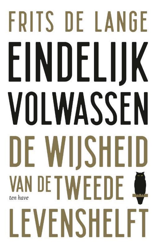 Boek cover Eindelijk volwassen van Frits de Lange (Paperback)