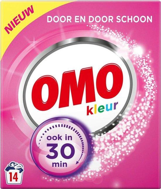 Omo Kleur Waspoeder - 6 x 14 wasbeurten - Voordeelverpakking