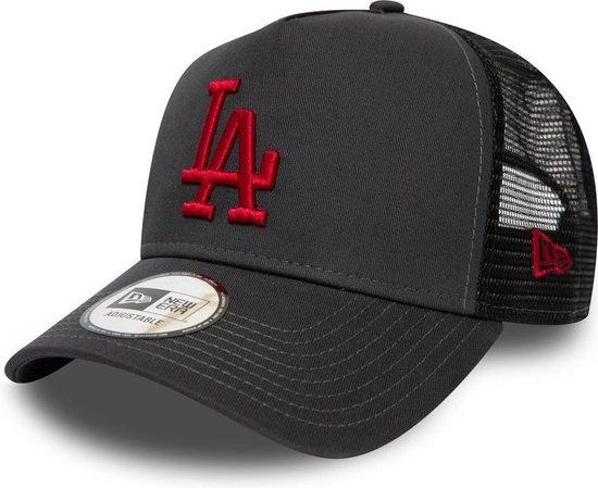 New Era League Essential AF Trucker cap LA Dodgers - Gray Red