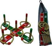 HOT Games Ringwerp-Spel Kruis 42 x 42cm. in net 704104