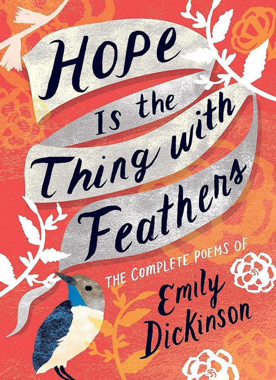 Boek cover Hope is the Thing with Feathers van Emily Dickinson (Hardcover)