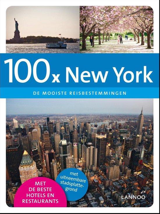 Cover van het boek '100 X New York FR'