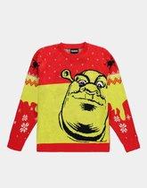 Universal - Shrek Knitted Christmas Jumper - XL - Multicolour