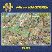 Kalender - 2021 - Jan van Haasteren - 30x30cm