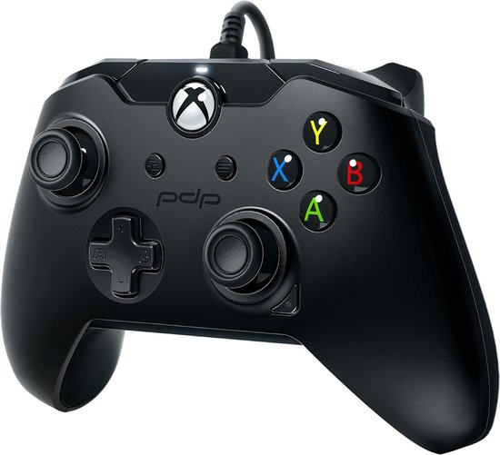 PDP controller - Official Licensed - Xbox Series X/S/Xbox One/Windows 10 - Zwart