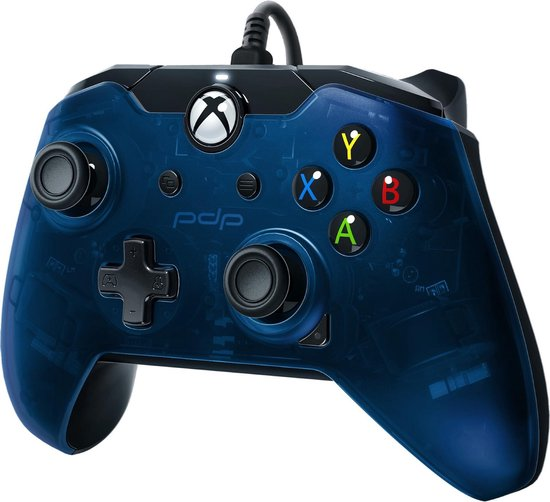 PDP controller - Official Licensed - Xbox Series X/S/Xbox One/Windows 10 - Blauw